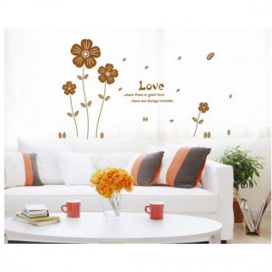 Love Petals Wall Sticker