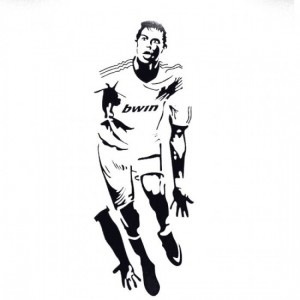 Ronaldo Soccer Wall Decals