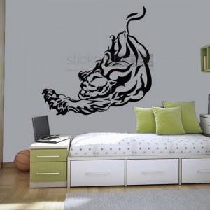 Tiger Growl Decals