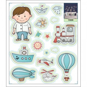 Kids Toys Glowing Decal