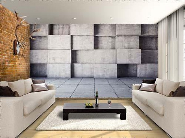 Concrete Backgrounds in Cubes