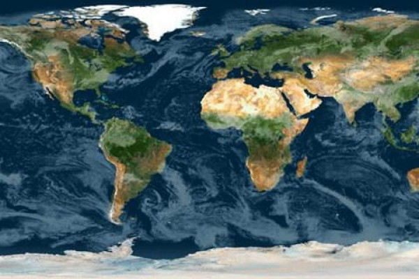 Raster Map of Planet