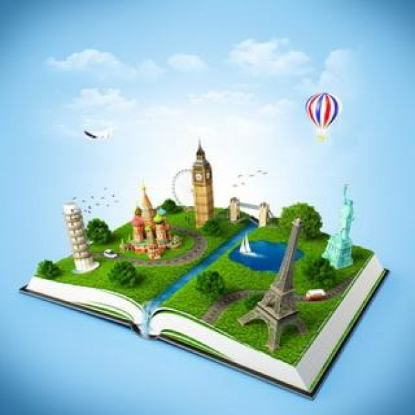 Book With Famous Monuments