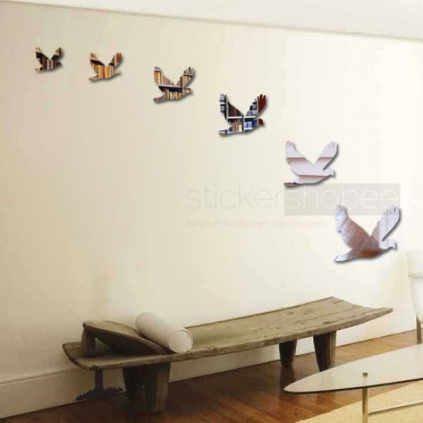 Birds Mirror Stickers