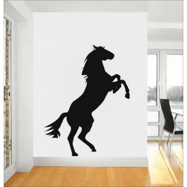 Jumping Horse Decal