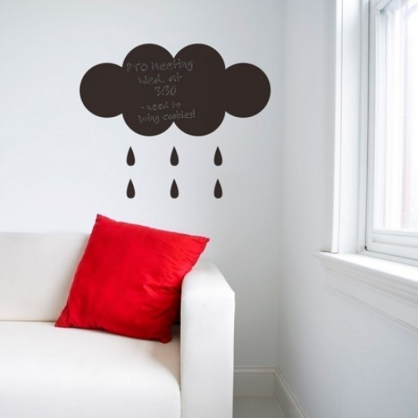 Rain From Clouds Decal