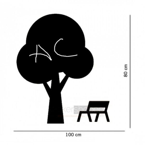 Tree With Chair Stickers