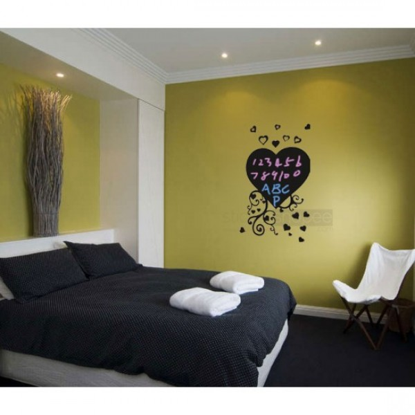 Floral Heart Wall Decal