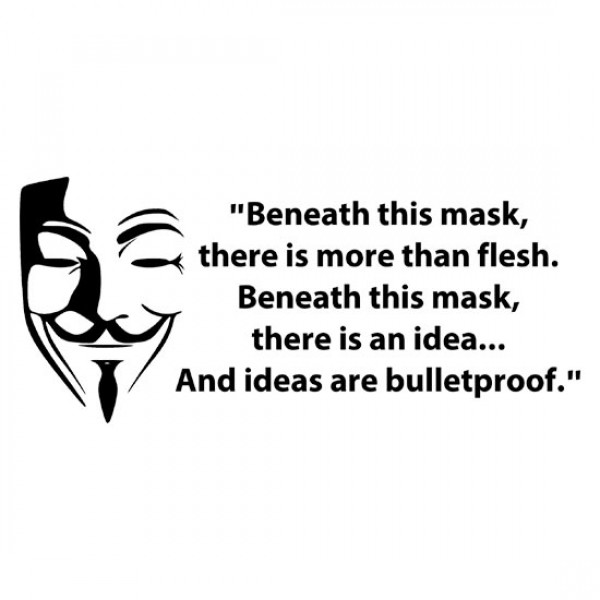 Mask Wall Quotes