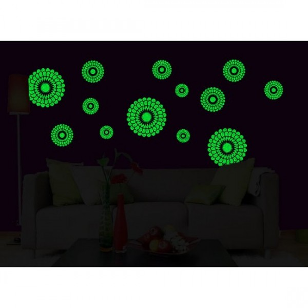 EEthnic Circle Wall Decal