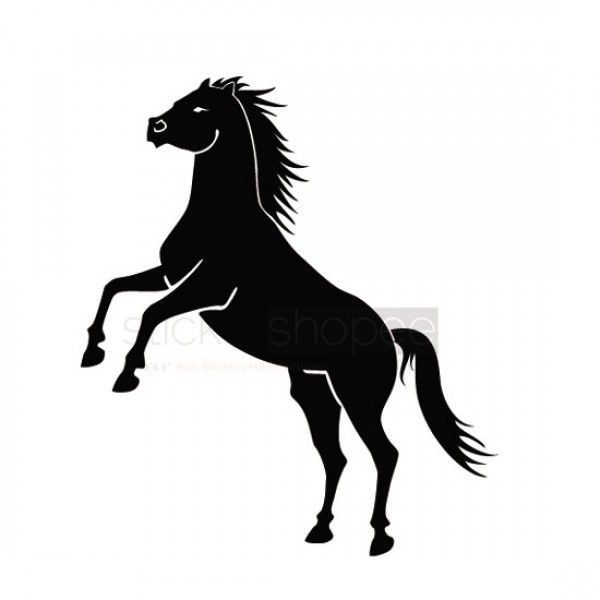 Horse Neigh Wall Decals