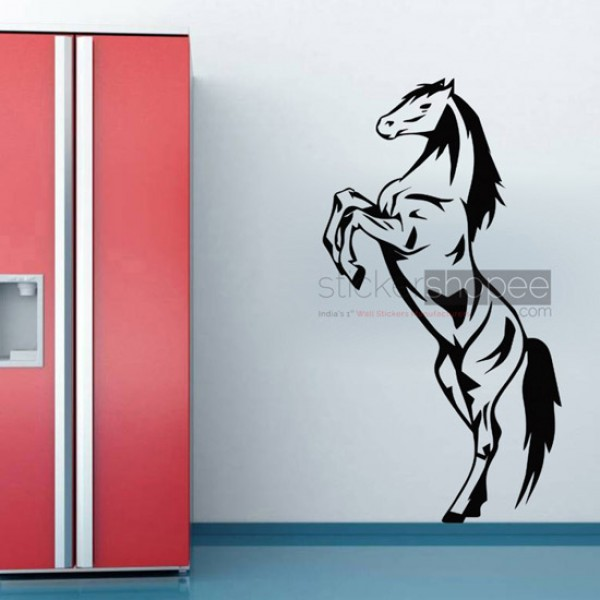 Jumping Horse Decals