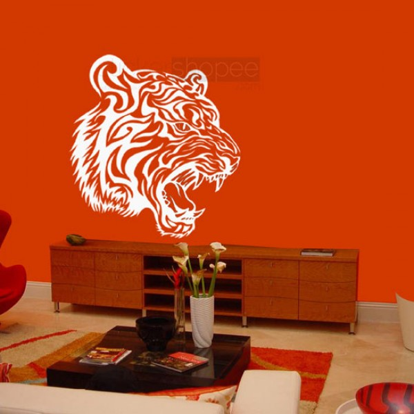 Tiger Facet Wall Decals