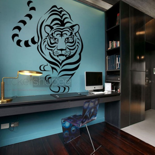 Hunting Tiger Decals