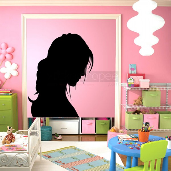Style Girl Wall Decals
