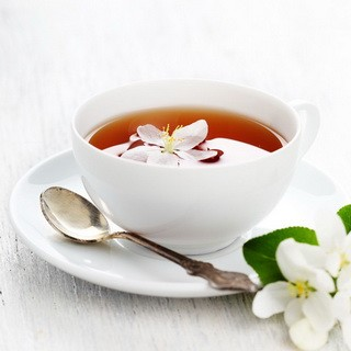 Cup of Tea With a Flower