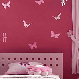 Butterflies Paint Stencil