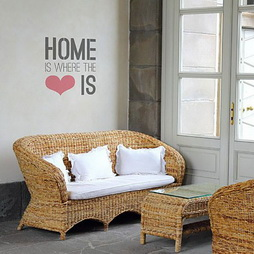 Home Is Where Love Is Paint Stencil